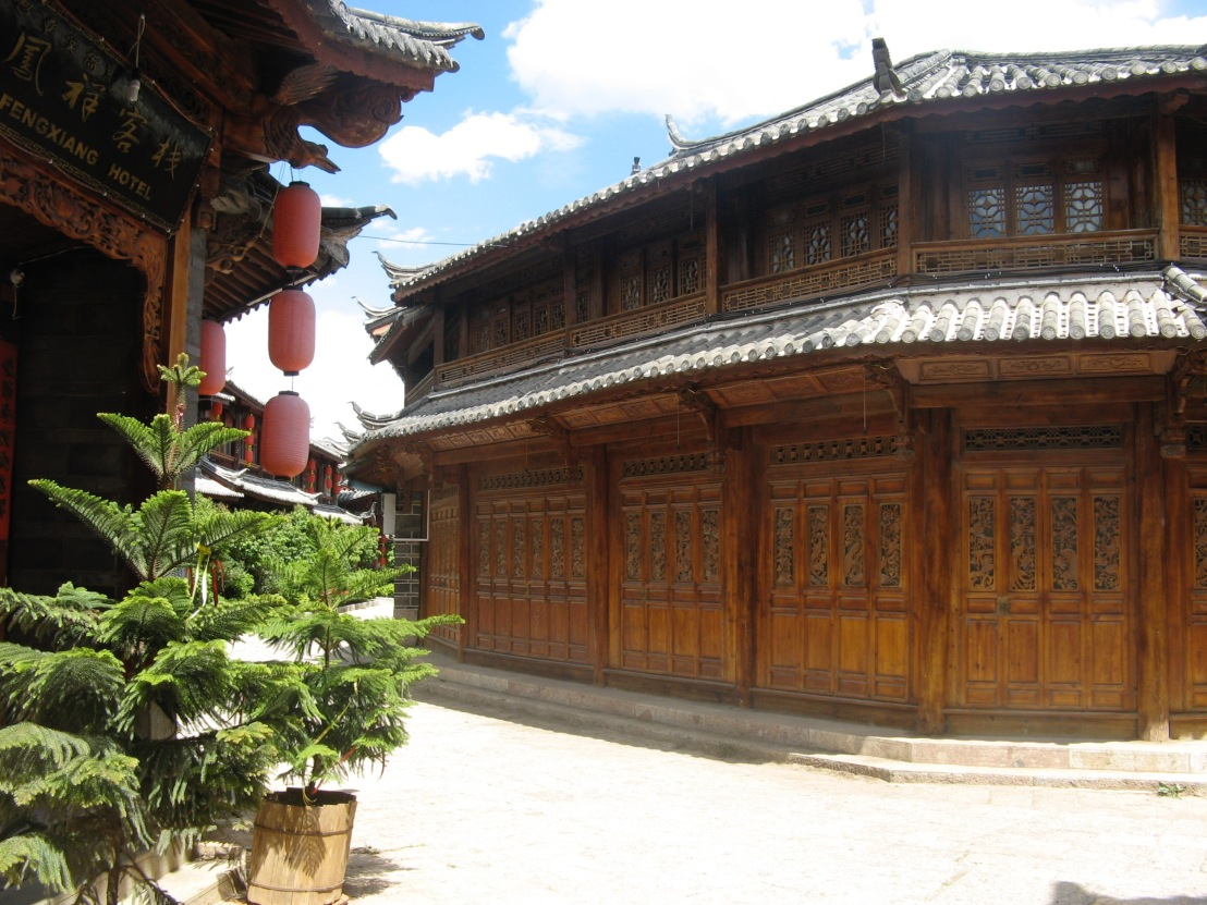 Buildings in Lijiang